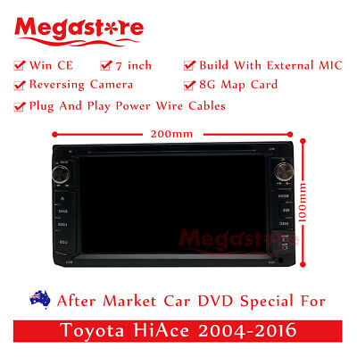 AU299.25 • Buy 7  Car DVD GPS Head Unit Player Stereo Radio Navigation For Toyota HiAce