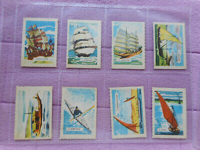 Trade Issue - Kelloggs (3# Series) Full Set 15 Cards Boats • 9.99£