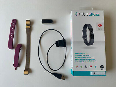 $ CDN29.99 • Buy Fitbit Alta HR Activity Tracker (Small) *FOR PARTS NOT WORKING* + Extra Bands