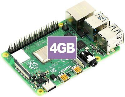AU119.95 • Buy NEW Raspberry Pi 4 Model B With 4GB RAM Made In UK IN STOCK