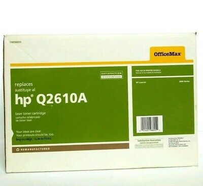$ CDN23.14 • Buy OfficeMax HP Q2610A  Compatible Toner Cartridge For Laserjet 2300 Sealed NOS