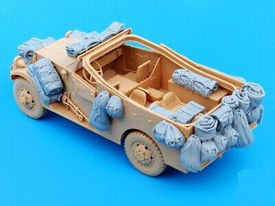$20.99 • Buy 1/35 Resin US M3A1 Scout Car Stowage & Accessories Unpainted 35397