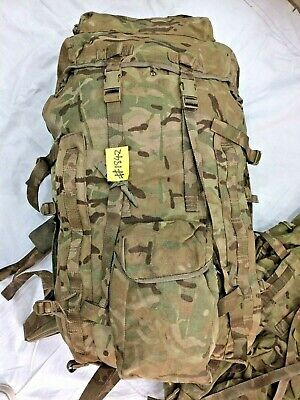 Rucksack/Bergen With Frame (INF) Short Convoluted Back MTP, IRR Used #1842 • 54.95£