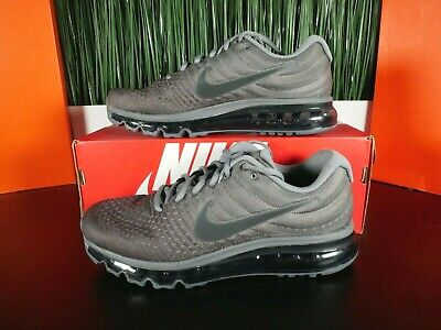 $100 • Buy Nike Air Max 2017 Mens Running Shoes Anthracite Dark Grey 849559 008 Sizes 8