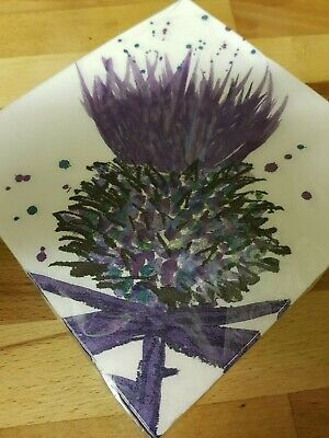 £5.99 • Buy Thistle Scotland Paper Napkins Home Party Dining Room Soft Tissue Serviettes