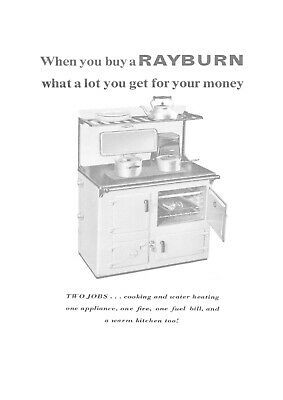 £4.94 • Buy User Manual For `The Rayburn No 3 Solid Fuel Oven / Cooker,16 Pages.