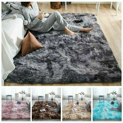 AU41.99 • Buy Shaggy Area Rugs Floor Carpet Living Room Bedroom Soft Fully Large Rug 120x160cm