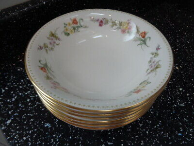 £45 • Buy Wedgwood  Mirabelle Cereal Bowls X 6