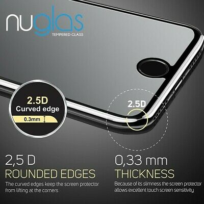 AU5.90 • Buy IPhone 11 Pro XS Max XS XR X 8 7 6 Plus - NUGLAS Tempered Glass Screen Protector