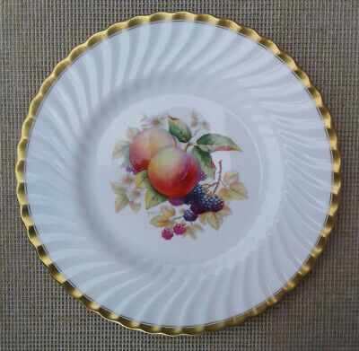 MINTON CABINET PLATE SIGNED By A. HOLLAND - FRUIT PATTERN. • 74.99£