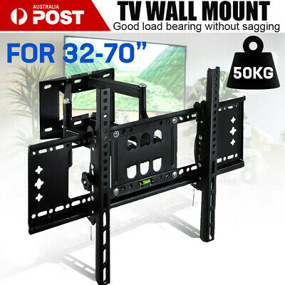 AU33.09 • Buy TV Wall Mount Bracket Full Motion Tilt Swivel Pivot 32 40 43 50 55 60 65 Inch