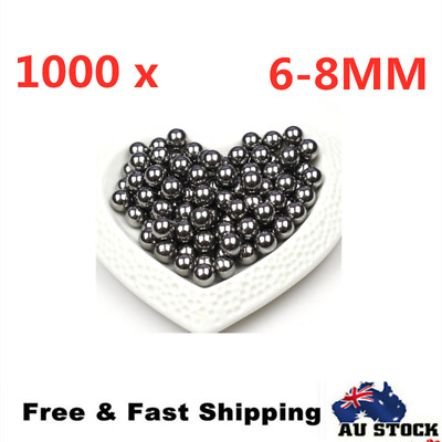 AU33.28 • Buy 1000PCS Replacement Parts 6/8mm Bike Bicycle Steel Loose Bearing Ball Cycling