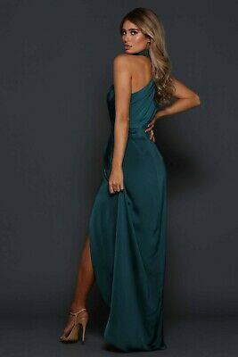 AU290 • Buy Gorgeous ELLE ZEITOUNE William Gown Emerald Size 6 Brand New With Tag