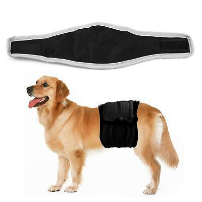 Male Dog Puppy Belly Wrap Band Nappy Diaper Sanitary Holder Pants Underpants • 4.76£