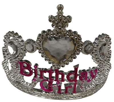 Birthday Girl Princess Tiara Crown • 7.99£