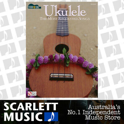 AU35.95 • Buy Ukulele The Most Requested Songs Strum And Sing (Softcover Book)