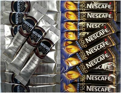 Nescafe Gold Blend Instant 1 Cup Individual Coffee Sticks Sachets  • 11.99£