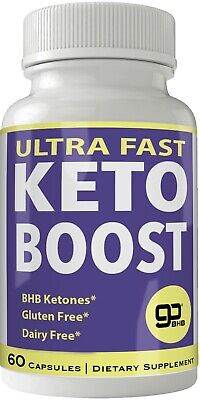 $39.95 • Buy Ultra Fast Keto Boost Weight Loss Pills With Advanced Natural Ketogenic BHB B...