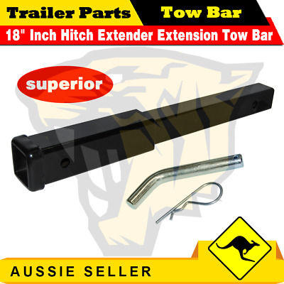AU50.20 • Buy 18  Inch Hitch Extender Extension Tow Bar Trailer 4WD Car 2  Receiver Heavy Duty
