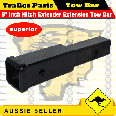 AU32.99 • Buy 8  Inch Hitch Extender Extension Tow Bar Trailer 4WD Car 2  Receiver Heavy Duty