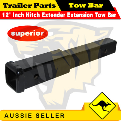 AU35 • Buy 12  Inch Hitch Extender Extension Tow Bar Trailer 4WD Car 2  Receiver Heavy Duty