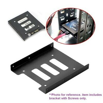 AU8.80 • Buy 2.5  To 3.5  Bracket Dock Adapter For 2.5  SSD HDD PC Holder Metal Mounting  Kit