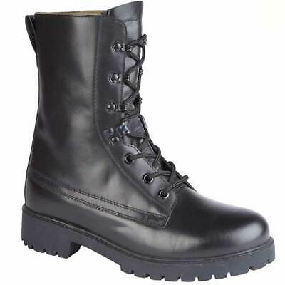 £59.99 • Buy Combat Assault Boot Black Leather British Army Style Combat Cadet Boot ~ New