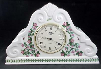 Portmeirion BOTANIC GARDEN Large Mantel Clock Made In England GREAT CONDITION • 76.36£