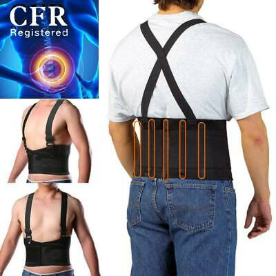 Lumbar Support Lower Back Brace Adjustable Waist Strap Heavy Work Relief Pain  • 16.73$