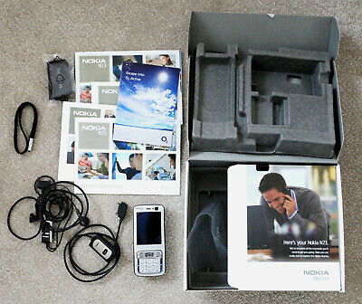 NOKIA N73 Dark Plum Boxed Instructions And Accessories • 50£