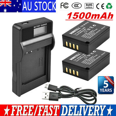 AU21.99 • Buy 2X NP-W126s W126 Battery + LCD Charger For Fujifilm X-M1 X-A1 X-T1 X100F Camera