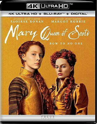$21.99 • Buy Mary Queen Of Scots UHD Margot Robbie NEW