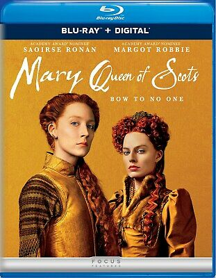$13.50 • Buy Mary Queen Of Scots Blu-ray Margot Robbie NEW