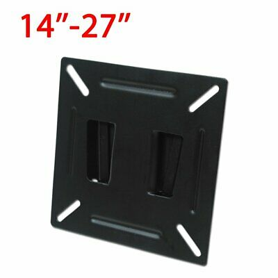 Plasma LED LCD Monitor TV Mount Wall Bracket Slim For 14 15 17 19 22 24 Inch • 5.69£