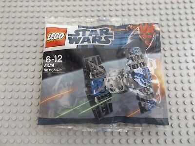LEGO Brand New Sealed Star Wars Tie Fighter Small Poly Bag Set 8028 Xmas Gift  • 5.49£