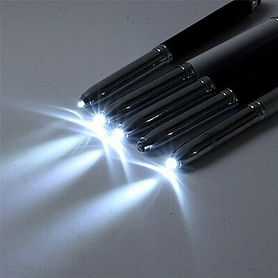 $2.49 • Buy 3 In 1 Touch Screen Stylus Ballpoint Pen With LED Flash Light For IPad Iphone TS