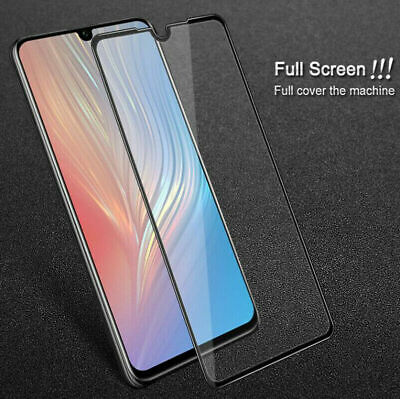 For HUAWEI P30 PRO Full Cover Gorilla Tempered Glass Screen Protector Film Black • 3.25£