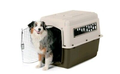 View Details Petmate Airline Approved Pet Dog Carrier Crate Vari Kennel Ultra Vgc  • 60.00£