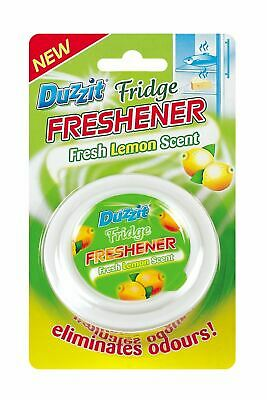 1 X Duzzit Fridge Freshener Fresh In Lemon Scent Eliminating Odours Dzt1069 • 2.99£