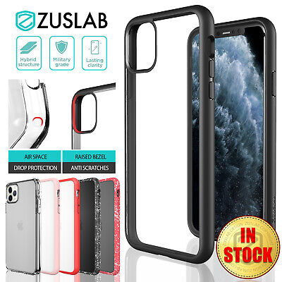AU12.99 • Buy IPhone 11 Pro Xs Max X XR Case ZUSLAB Clear Heavy Duty Shockproof Slim For Apple