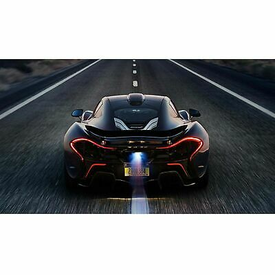 McLaren Sports Car At Night Poster Self Adhesive Wall Sticker Art Decal Mural • 38.99£