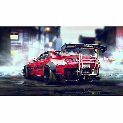 Toyota Supra Sports Car Poster Self Adhesive Wall Sticker Art Decal Mural • 38.99£
