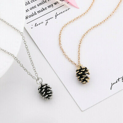 Fashion Gifts Jewelry Nut Acorn Necklace Pine Nuts Pendant Pinecone Pendant • 0.75$