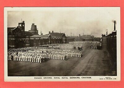 £10 • Buy Parade Ground Royal Naval Barracks Chatham RP Pc Unused Gale & Polden Ref T664