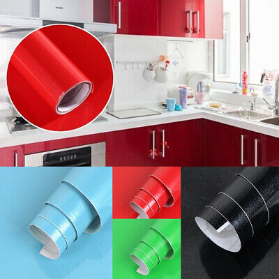 2M Kitchen Cupboard Door Drawer Liner Cover Self Adhesive Wall Sticker Roll • 4.59£