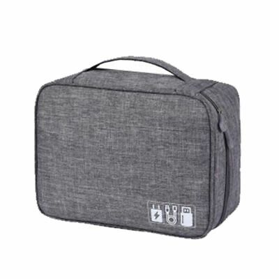 AU21.20 • Buy Polyester Men Travel Electronic Accessories Travel Bag Organizer Date SD Card