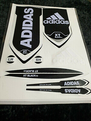 *3d/embossed* Adidas Xt Black V2 Cricket Bat Sticker • 8.95£