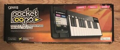 Gear4 PocketLoops Portable Music Creation Studio For IPhone + IPod Touch - Black • 17.99£