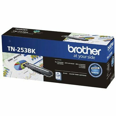 AU179 • Buy Brother TN253 Black Laser Toner Cartridge TN-253BK HL L3230CDW MFC L3750CDW 3770