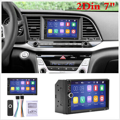 £45.89 • Buy Bluetooth Car Radio Stereo 7  Inch Double 2DIN FM USB/MP5 Player Touch Screen
